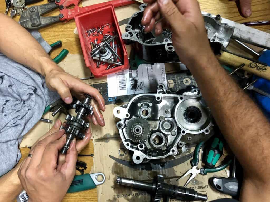 Getriebeanalyse – Nidda oder Saison-Aus