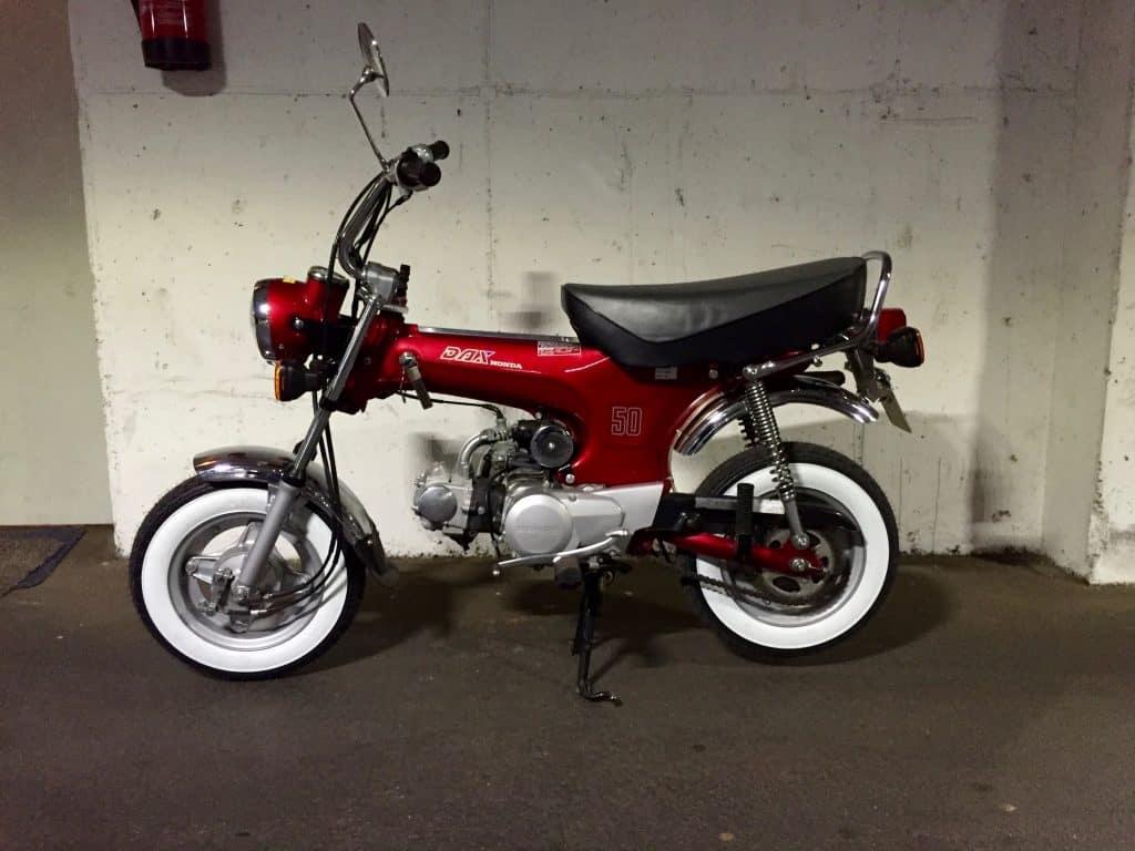 Ein Traum in Honda AB 23 Dax ST 108 ccm, 4 gang - Bestes